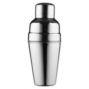 Cocktail Shaker, BAR AID, mattierter Edelstahl, dreiteilig (500ml)
