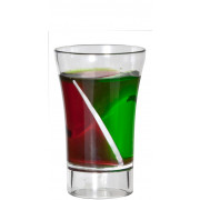 Econ Siptail Twist Shotglas, BB Plastics - 30ml