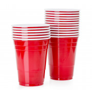 Einwegbecher Red Cup, SOLO - 473ml (50 Stk.)