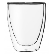 Cappuccino Glas ohne Henkel, doppelwandig, Lounge - 0,23l