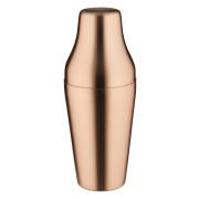French Cocktail Shaker, kupferfarben matt, zweiteilig (500ml)