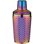 Cocktailshaker, dreiteilig, Multicolor, Prime Bar - 350 ml