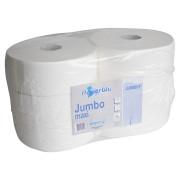 Jumbo Toilettenpapier, 2lg. - hochweiß (6 Stk.)