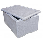 Thermobox EPS 60x40x33cm grau