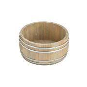Mini Holzfass breit - 18x8,2cm