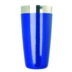 Boston Shaker blau - Edelstahl, Vinylüberzug
