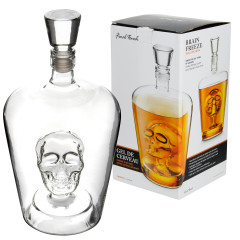Final Touch Skull Dekanter, 1,0l
